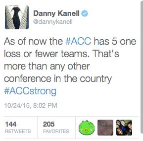 Kanell tweet