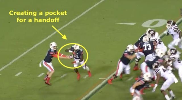 Pocket handoff